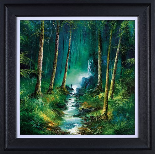 Forest of Light by Philip Gray - Framed Hand Finished Limited Edition on Canvas