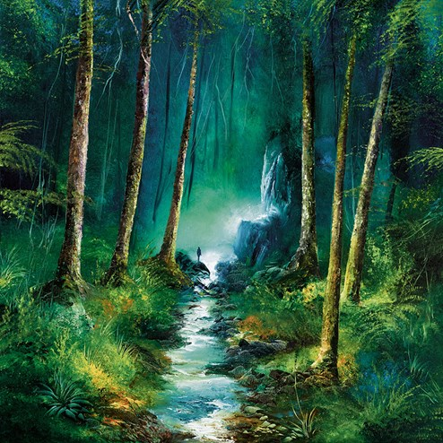 Forest of Light by Philip Gray - Hand Finished Limited Edition on Canvas